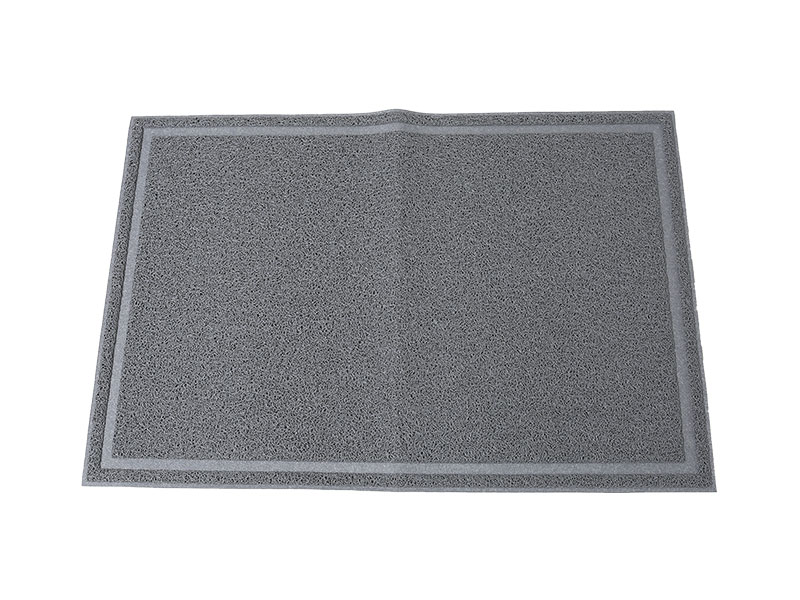 60*90cm Customizable Various shapes High Quality outdoor floor mat rubber plastic anti slip waterproof
