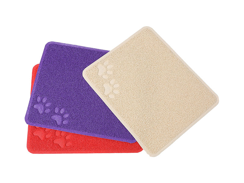 Direct deal Indoor rubbeer pad plastic bathroom waterproof floor mat pad pet cat dog cooling bed mat