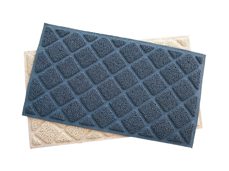 High Quality wholesale cat litter tray mat waterproof non-slip pet mat Kitty Litter Box Rug PVC floor mat