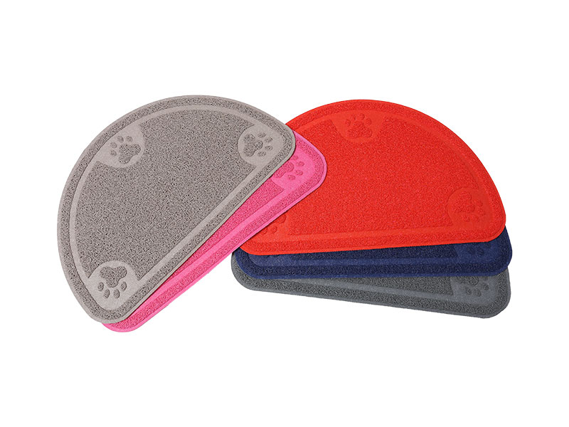 PVC Pet Products Non-Slip Easy Cleaning Cat Litter Mat