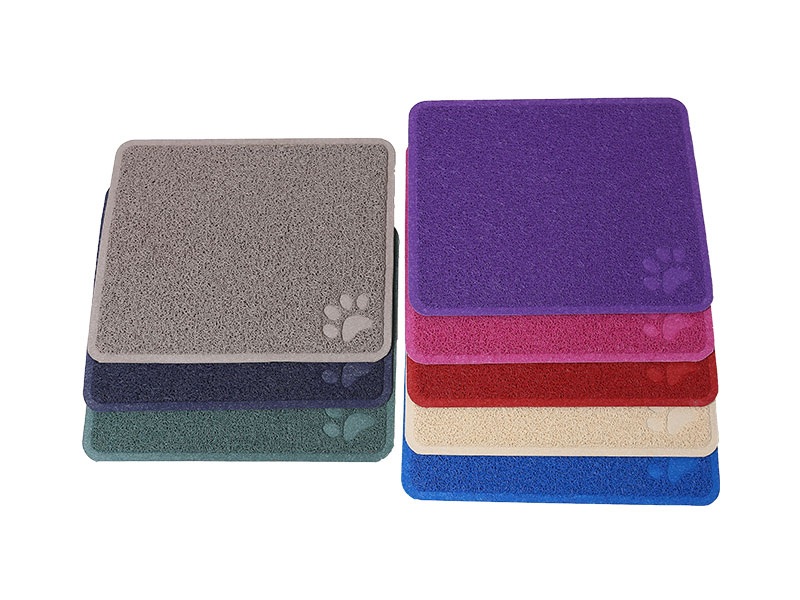 Customizable pet products large dog cooling mat cat feeding mat plastic waterproof anti slip rubber