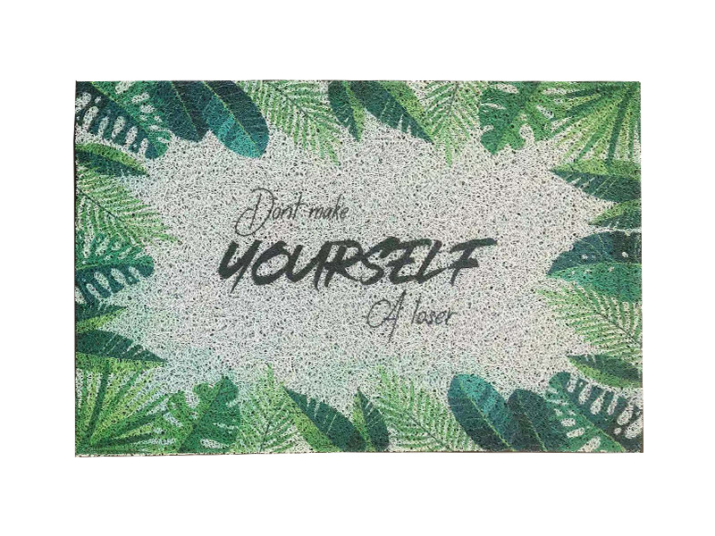 UV Digital Printing floor mat Big size Customize Finished Carpet rubber PVC Door Mat floor cushion rubber floor mat