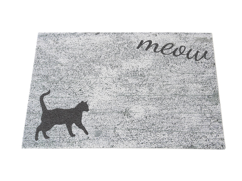 Customize pattern PVC coil doormat Big size rubber floor mat UV Printing Cartoon pattern